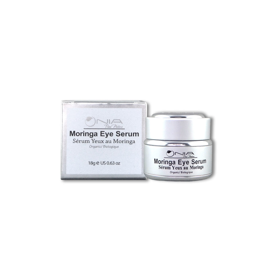 New! Organic Moringa Eye Serum