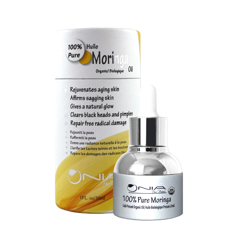 100% Cold-Pressed Organic Moringa Oil - Moringa Products