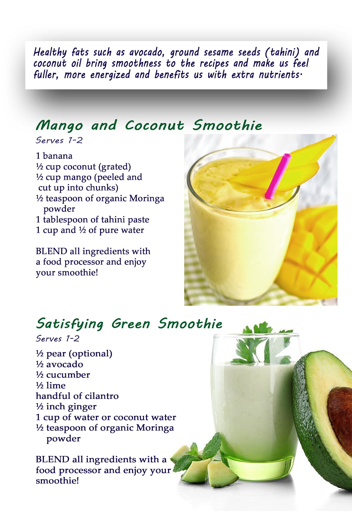 Recipes moringa products please click on image below to enlarge it forumfinder Gallery