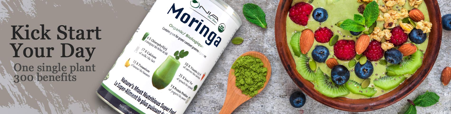 Kick start your day with Moringa