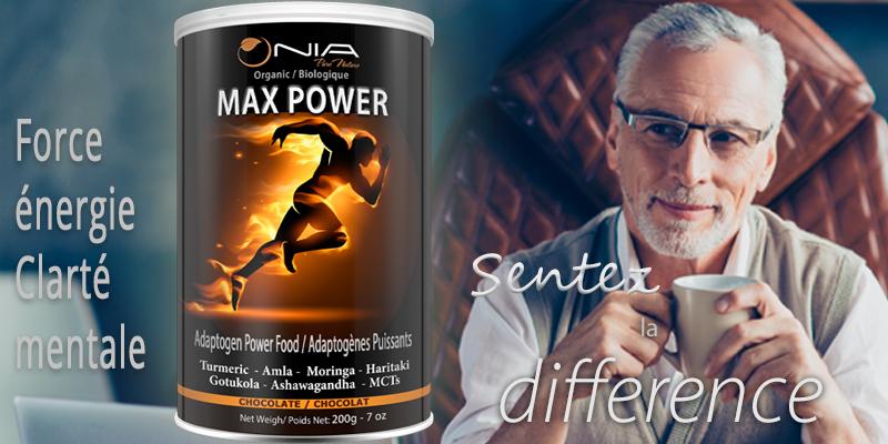 Max Power slider - Mobile French